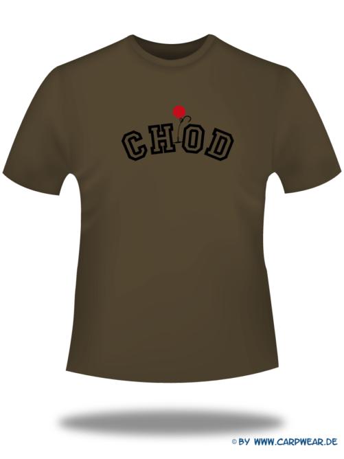 CHOD - T-Shirt-CHOD-Braun-Motiv-Schwarz.png - not starred