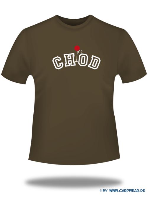 CHOD - T-Shirt-CHOD-Braun-Motiv-Weiss.png - not starred