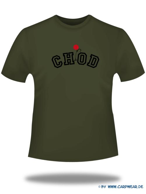 CHOD - T-Shirt-CHOD-Khaki-Motiv-Schwarz.png - not starred