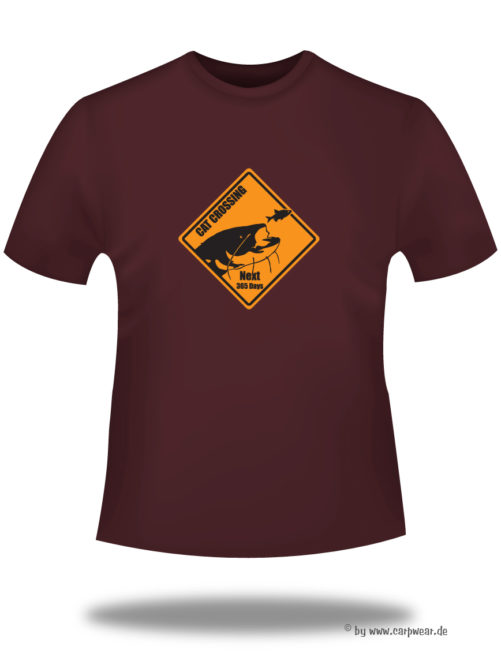 Cat-Crossing - T-Shirt-bordeaux-CatCrossing.jpg - not starred