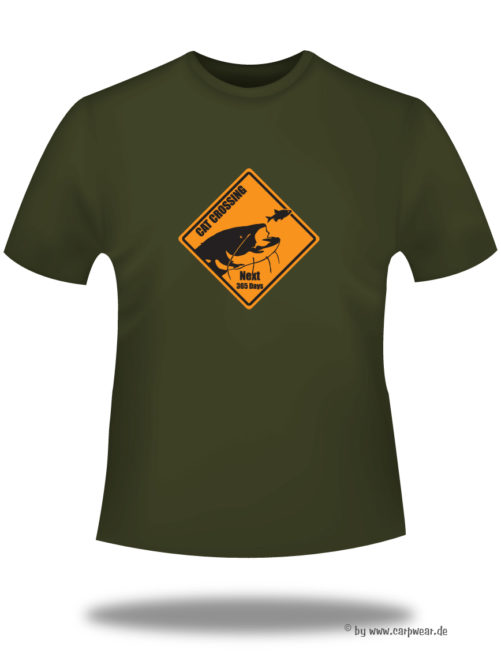 Cat-Crossing - T-Shirt-khaki-CatCrossing.jpg - not starred