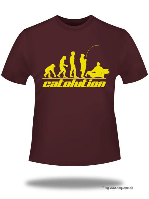 Catolution - T-Shirt-Catolution-bordeaux-gelb.jpg - not starred