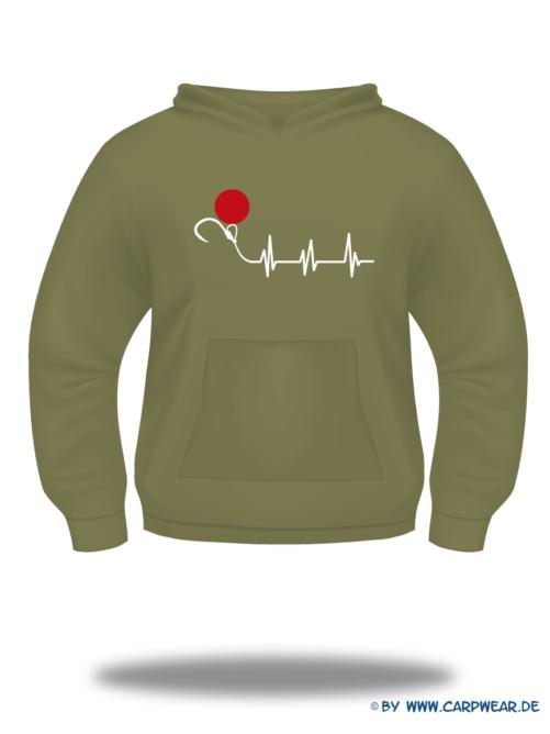 EKG - Hoody-EKG-Khaki-Motiv-Weiss.png - not starred