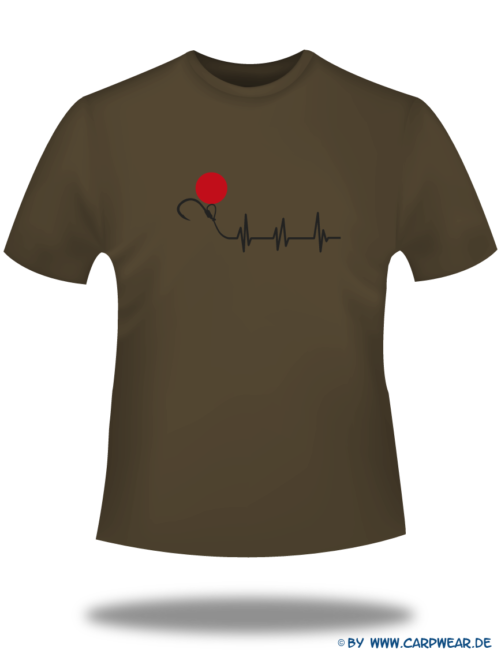 EKG - T-Shirt-EKG-Braun-Motiv-Schwarz.png - not starred