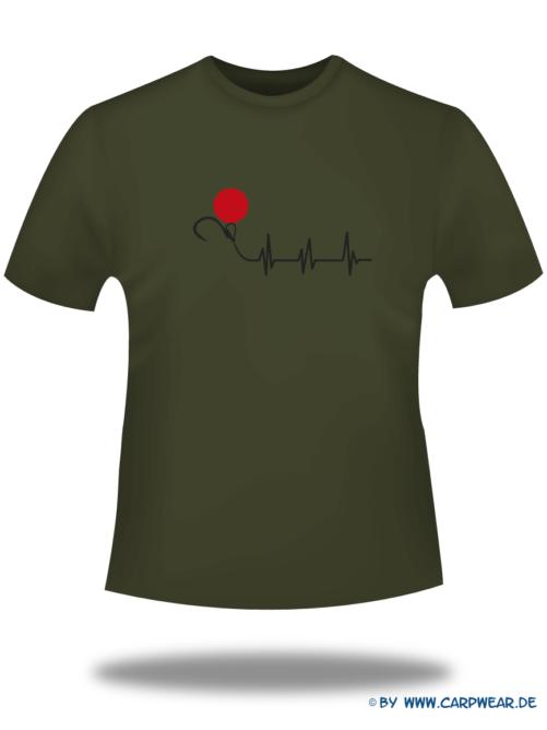 EKG - T-Shirt-EKG-Khaki-Motiv-Schwarz.png - not starred