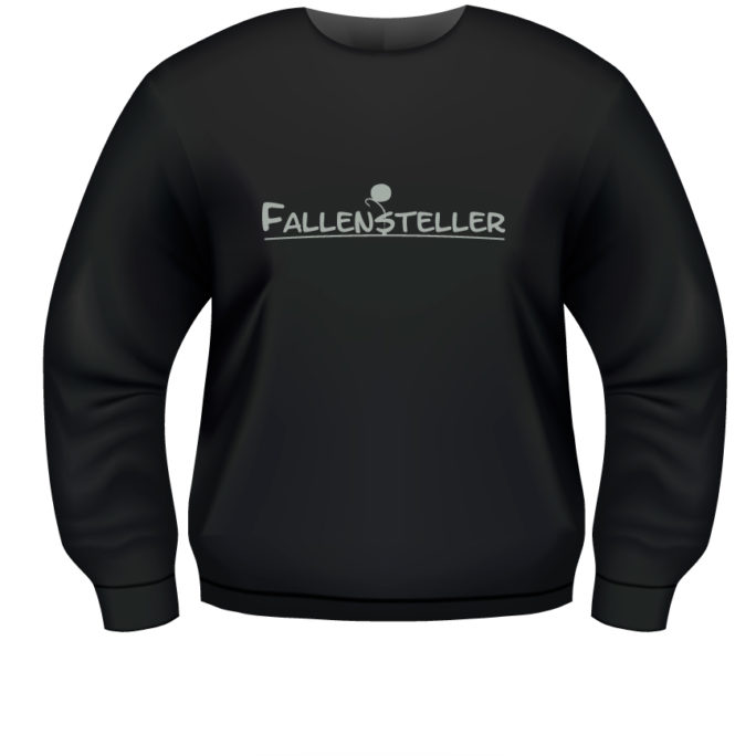 Fallensteller - Fallensteller-Sweat-Schwarz.jpg - not starred