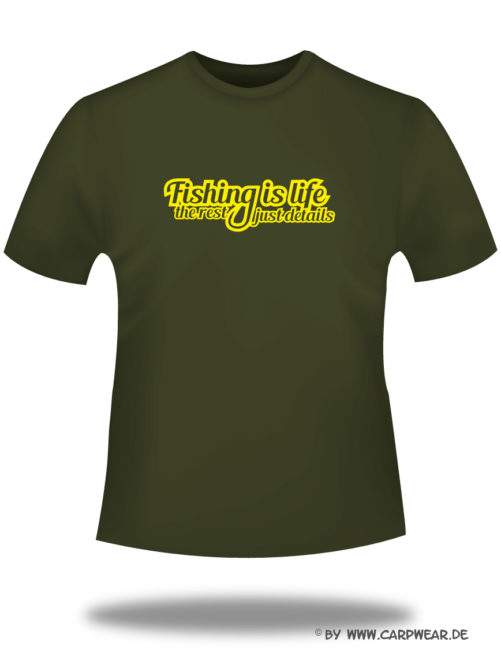 Fishing-is-Life - T-Shirt_Fishing_Khaki_gelb.jpg - not starred