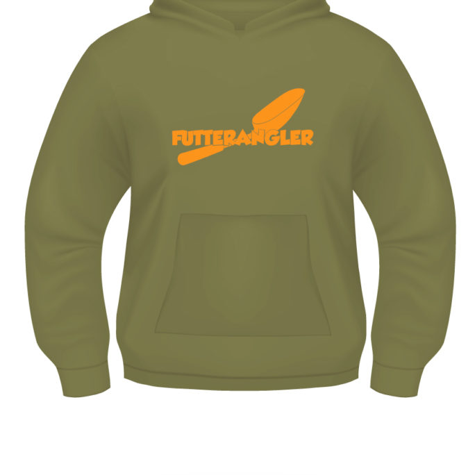 Futterangler - Hoody_Futterangler_Khaki_Orange.jpg - not starred
