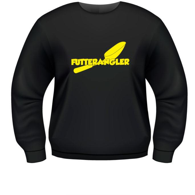 Futterangler - Sweat_Futterangler_Schwarz_gelb.jpg - not starred