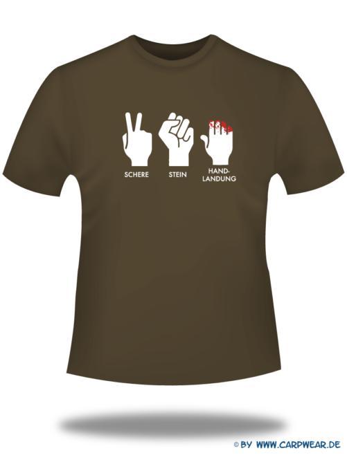 Handlandung - T-Shirt-Handlandung-Braun-Motiv-Weiss.png - not starred