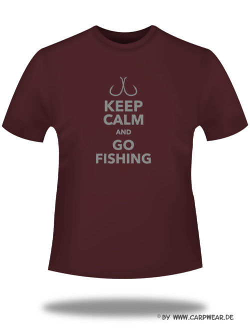 Keep-Calm - T-Shirt_Calm_bordeaux_grau.jpg - not starred