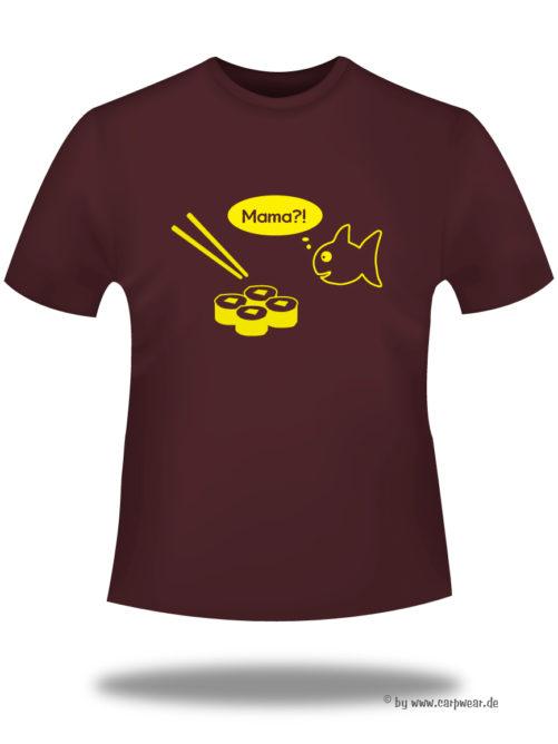 Mama - mama-t-shirt-Bordeaux-gelb.jpg - not starred