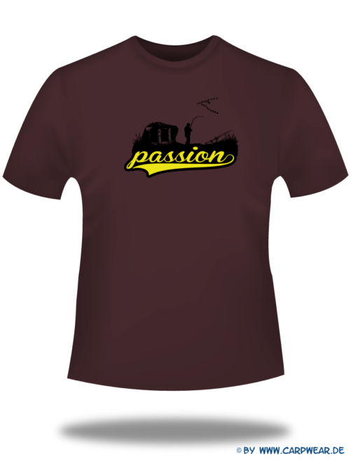 Passion - T-Shirt-Passion-Bordeaux-Motiv-Schwarz.png - not starred