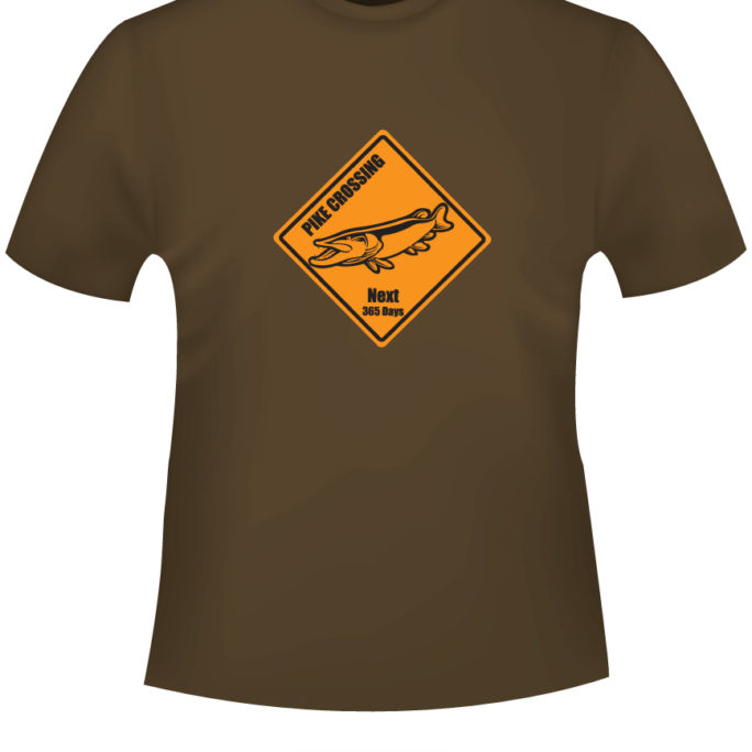 Pike-Crossing - T-Shirt-PikeCrossing-braun.jpg - not starred