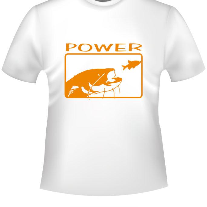 Power - Power-T-Shirt-weiss-orange.jpg - not starred
