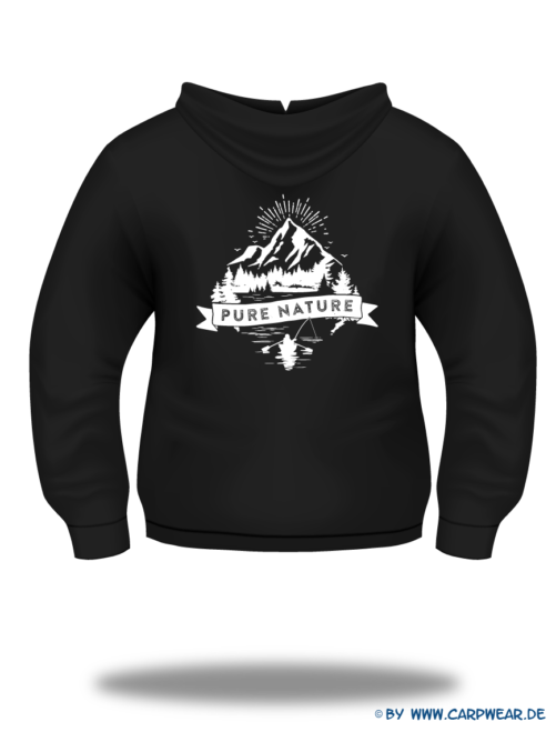 PureNature - Hoody-PureNature-Schwarz-Motiv-Weiss-Rücken.png - not starred
