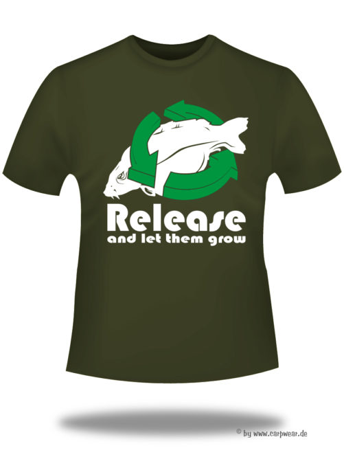 Release-and-let-them-grow - Release-t-shirt-back-Khaki.jpg - not starred