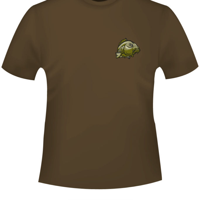 Trouble-Linear - Trouble-Linear-T-Shirt-braun-Front.jpg - not starred
