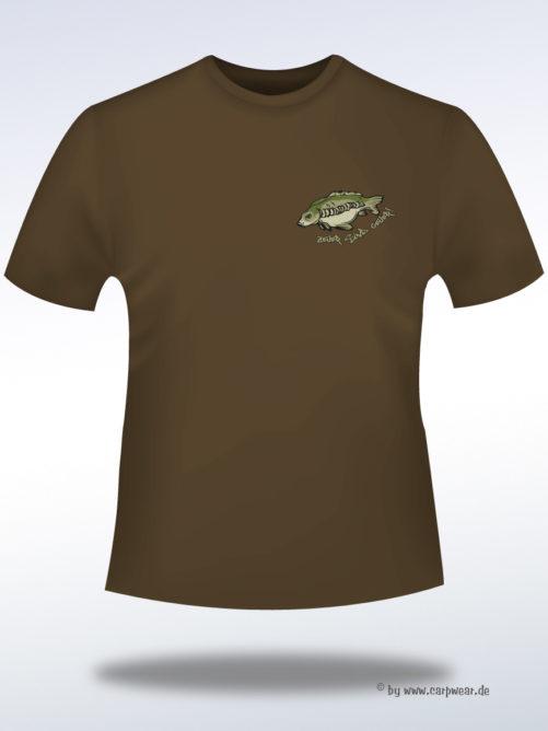 Zeiler-sind-geiler - ZeilerGeiler-T-Shirt-Braun-front.jpg - not starred